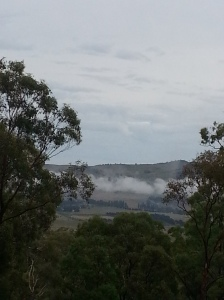 Morning mist over the Valley